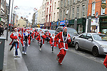 Santa Dash..(Photo credit should read Jenny Matthews www.newsfile.ie)....This Picture has been sent you under the conditions enclosed by:.Newsfile Ltd..The Studio,.Millmount Abbey,.Drogheda,.Co Meath..Ireland..Tel: +353(0)41-9871240.Fax: +353(0)41-9871260.GSM: +353(0)86-2500958.email: pictures@newsfile.ie.www.newsfile.ie.