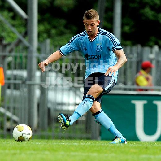 EMMEN - FC Emmen - Ajax voorbereiding  seizoen 2011-2012 , 09-07-2011 Ajax speler Toby Olderweireld