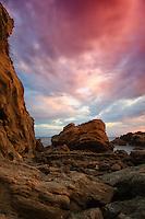 Laguna Beach Seascape Stock Photo