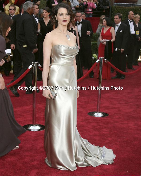Rachel Weisz.79th Annual Academy Awards.Kodak Theater .Hollywood & Highland.Hollywood, CA.February 25, 2007.©2007 Kathy Hutchins / Hutchins Photo....