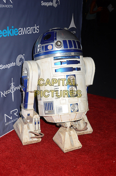 R2D2<br /> The first annual Geekie Awards at The Avalon Hollywood in Hollywood, CA., USA.  <br /> August 18th, 2013<br /> full length costume robot star wars <br /> CAP/ADM/BT<br /> &copy;Birdie Thompson/AdMedia/Capital Pictures