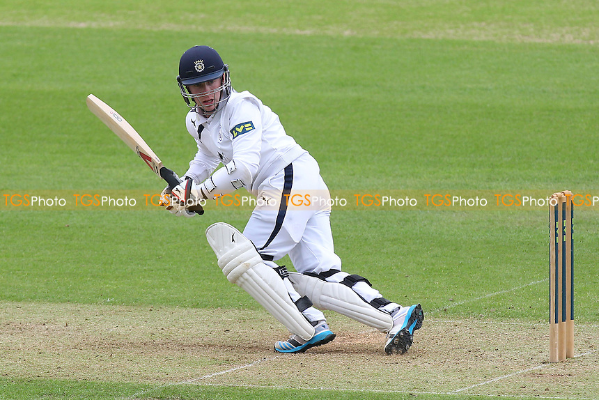 Adam Wheater in batting action for Hampshire - Hampshire CCC vs Essex CCC - LV County Championship Division Two Cricket at the Ageas Bowl, West End, Southampton - 15/06/14 - MANDATORY CREDIT: Gavin Ellis/TGSPHOTO - Self billing applies where appropriate - 0845 094 6026 - contact@tgsphoto.co.uk - NO UNPAID USE