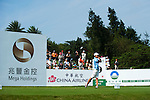 TAOYUAN, TAIWAN - OCTOBER 22: Connie Chen of South Africa tees off on the 9th hole during day three of the LPGA Imperial Springs Taiwan Championship at Sunrise Golf Course on October 22, 2011 in Taoyuan, Taiwan. Photo by Victor Fraile / The Power of Sport Images