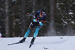IBU World Championships Biathlon 2019 Ostersund  Sprint Men Event in Ostersund, Sweden on March 9, 2019; Antonin Guigonnat (FRA)