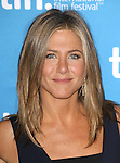 Jennifer Aniston during the Photo Call for 'Cake' at the the tiff Bell Lightbox during the 2014 Toronto International Film Festival on September 9, 2014 in Toronto, Canada.