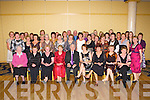 Norrie McGlynn Dromulton, Currow (seated forth from left) colleagues and friends from Killarney Community Hospital who gathered to say farewell at her retirement party in the Dromhall Party on Thursday night   Copyright Kerry's Eye 2008