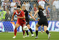 Canada forward Melissa Tancredi (14) in action.