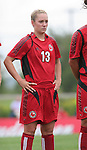 26 August 2007: Connecticut's Kristin Graczyk. The Washington Freedom played the Connecticut Sun in the Hall of Fame Game as part of the National Soccer Hall of Fame Induction Weekend at the National Soccer Hall of Fame in Oneonta, New York.