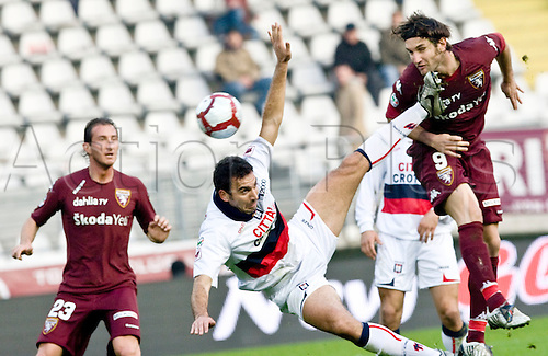 Italian Serie B day 16, Torino, olympic stadium, november 28, 2009 - TORINO vs CROTONE - in the picture rolando bianch scoring 1-2. Photo: Alberto Ramella/Actionplus. Editorial Only Not Italy