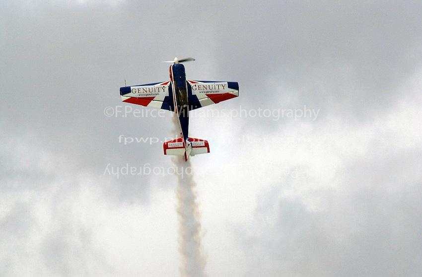 Air show over Lake Washington