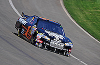 Oct. 10, 2009; Fontana, CA, USA; NASCAR Sprint Cup Series driver Martin Truex Jr during practice for the Pepsi 500 at Auto Club Speedway. Mandatory Credit: Mark J. Rebilas-