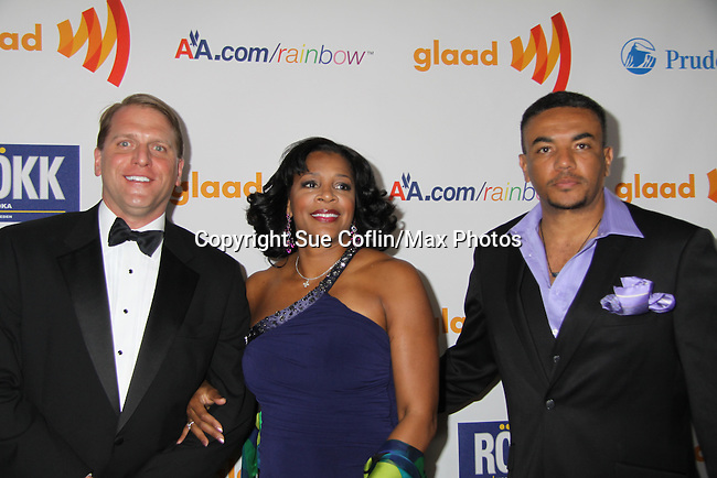 at the 22nd Annual Glaad Media Awards honoring Ricky Martin (GH) & Russell Simmons on March 19, 2011 at the New York Marriott Marquis, New York City, New York. (Photo by Sue Coflin/Max Photos)
