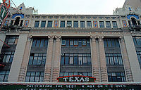 Movie Theatre: San Antonio--Texas Theater Marquee. Photo '88.