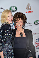 BEVERLY HILLS, CA. October 26, 2018: Cate Blanchett &amp; Joan Collins at the 2018 British Academy Britannia Awards at the Beverly Hilton Hotel.<br /> Picture: Paul Smith/Featureflash