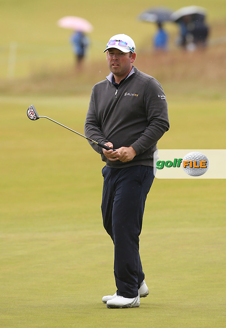 Justin Walters (RSA) cleared a 65 with no dropped shots during Round Three of the 2016 Aberdeen Asset Management Scottish Open, played at Castle Stuart Golf Club, Inverness, Scotland. 09/07/2016. Picture: David Lloyd | Golffile.<br /> <br /> All photos usage must carry mandatory copyright credit (&copy; Golffile | David Lloyd)