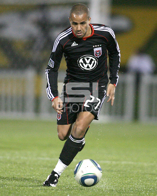 Fred(27) of D.C. United  during a play-in game for the US Open Cup tournament against the Philadelphia Union at Maryland Sportsplex, in Boyds, Maryland on April 6 2011. D.C. United won 3-2 after overtime penalty kicks.