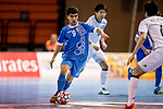 Uzbekistan vs Japan during the AFC Futsal Championship Chinese Taipei 2018 Group Stage match at University of Taipei Gymnasium on 05 February 2018, in Taipei, Taiwan. Photo by Yu Chun Christopher Wong / Power Sport Images
