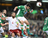 06/10/2016; 2018 FIFA World Cup Qualifier Republic of Ireland vs Georgia; Aviva Stadium, Dublin<br /> Ireland&rsquo;s Shane Long.<br /> Photo Credit: actionshots.ie/Tommy Grealy