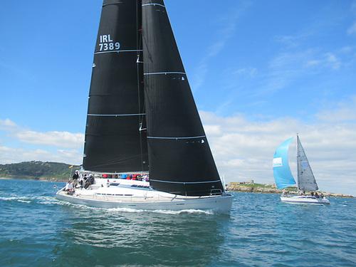 First 50 Mermaid using her Uni Titanium sails to win DL Regatta