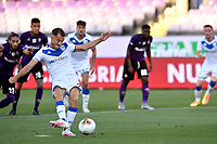 Alfredo Donnarumma of Brescia Calcio scores on penalty the goal of 0-1 during the Serie A football match between ACF Fiorentina and Brescia Calcio at Artemio Franchi stadium in Florence ( Italy ), June 22th, 2020. Play resumes behind closed doors following the outbreak of the coronavirus disease. <br /> Photo Antonietta Baldassarre / Insidefoto