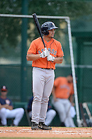 Houston Astros second baseman Nick Tanielu (89) during an Instructional League game against the Atlanta Braves on September 22, 2014 at the ESPN Wide World of Sports Complex in Kissimmee, Florida.  (Mike Janes/Four Seam Images)