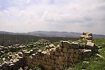 Israel, Upper Galilee, Hurvat Beck on Mount Meron