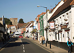 High street, Maldon, Essex, England