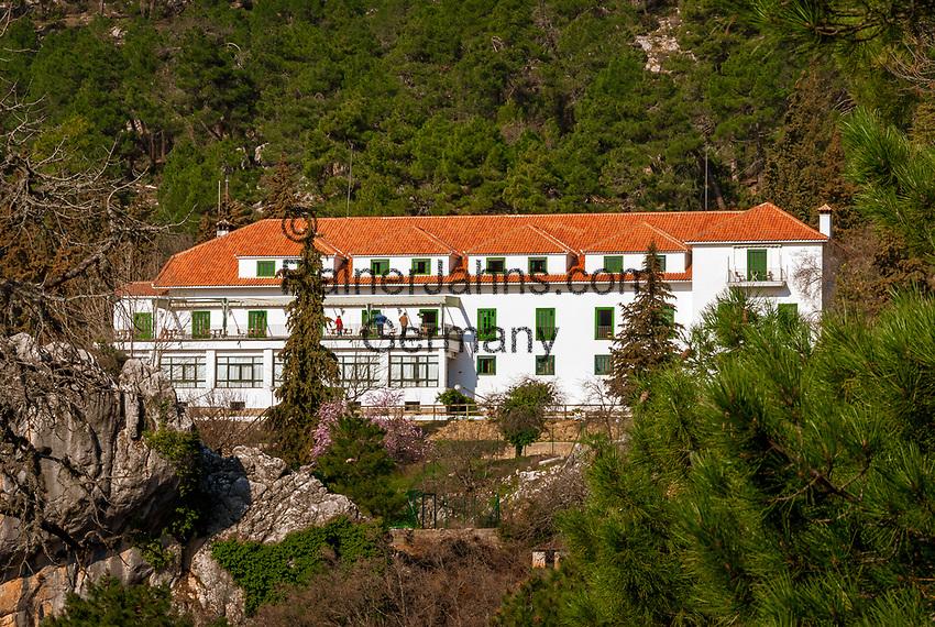 Spanien, Andalusien, Provinz Jaén, bei Cazorla: Parador Cazorla in der Sierra de Cazorla | Spain, Andalusia, Province Jaén, near Cazorla: Parador Cazorla at Sierra de Cazorla mountains