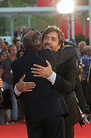 Javier Bardem, Alberto Barbera at the &quot;Mother!&quot; premiere, 74th Venice Film Festival in Italy on 5 September 2017.<br /> <br /> Photo: Kristina Afanasyeva/Featureflash/SilverHub<br /> 0208 004 5359<br /> sales@silverhubmedia.com