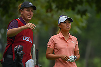 Danielle Kang (USA) looks over her tee shot on 11 during round 1 of the U.S. Women's Open Championship, Shoal Creek Country Club, at Birmingham, Alabama, USA. 5/31/2018.<br /> Picture: Golffile   Ken Murray<br /> <br /> All photo usage must carry mandatory copyright credit (© Golffile   Ken Murray)