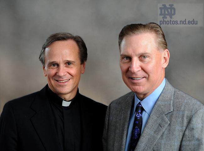 Fr. Jenkins and Chris Reyes