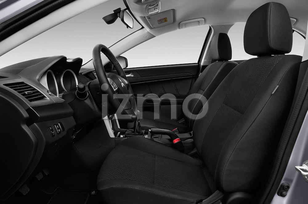 Front seat view of 2016 Mitsubishi Lancer Intense 4 Door Sedan Front Seat  car photos