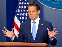 Incoming White House communications director Anthony Scaramucci's First Day