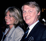 Penny Marshall and Mike Nichols attends a Barbecue at Gracie Mansion on June 1, 1988 in New York City.