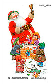 GIORDANO, CHRISTMAS SANTA, SNOWMAN, WEIHNACHTSMÄNNER, SCHNEEMÄNNER, PAPÁ NOEL, MUÑECOS DE NIEVE, paintings+++++,USGI1883,#X# stickers