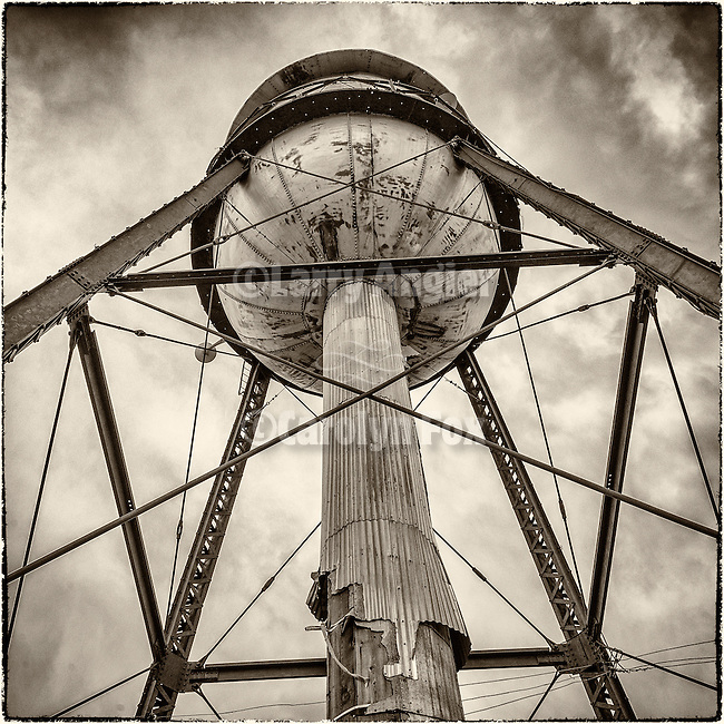 Water tower, Ruby Hill Mine, Eureka, Nev.
