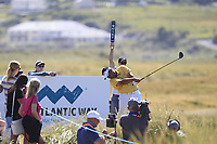 Kiradech Aphibarnrat (THA) on the 11th during Round 2 of the Dubai Duty Free Irish Open at Ballyliffin Golf Club, Donegal on Friday 6th July 2018.<br /> Picture:  Thos Caffrey / Golffile