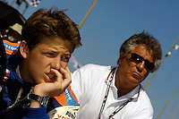 Grand Prix of St. Petersburg, 3 April, 2005.Marco and Mario Andretti..Copyright©F.Peirce Williams 2005.  ref.Digital Image Only