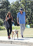 Jodhi Meares Spotted Out & About Walking Her Dog