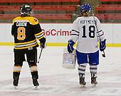Caitlin Cahow (Boston - 8), Alexandra Hoffmeyer (Toronto - 18) - The Boston Blades defeated the visiting Toronto Hockey Club 4-2 on Sunday, February 6, 2011, at Bright Hockey Center in Cambridge, Massachusetts.
