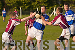 Seamus Riordan red and Brendan Mulvihill blue