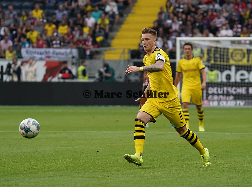 Marco Reus (Borussia Dortmund) - 22.09.2019: Eintracht Frankfurt vs. Borussia Dortmund, Commerzbank Arena, 5. Spieltag<br /> DISCLAIMER: DFL regulations prohibit any use of photographs as image sequences and/or quasi-video.