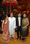Shakti and Sam Dalal with Shreyas and Niki Nanavati at the UNICEF Mystique of India gala at the InterContinental Hotel Saturday Sept. 27,2008.(Dave Rossman/For the Chronicle)