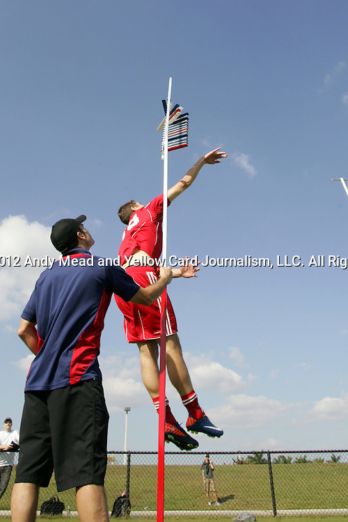 06 January 2012: Hunter Jumper (Virginia). The 2012 MLS Player Combine was held on the cricket oval at Central Broward Regional Park in Lauderhill, Florida.