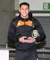 Blackpool's Myles Boney<br /> <br /> Photographer Rachel Holborn/CameraSport<br /> <br /> The EFL Checkatrade Trophy Group C - Blackpool v Accrington Stanley - Tuesday 13th November 2018 - Bloomfield Road - Blackpool<br />  <br /> World Copyright © 2018 CameraSport. All rights reserved. 43 Linden Ave. Countesthorpe. Leicester. England. LE8 5PG - Tel: +44 (0) 116 277 4147 - admin@camerasport.com - www.camerasport.com