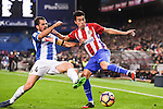 Nicolas Gaitan of Atletico de Madrid fights for the ball with Victor Sanchez Mata of RCD Espanyol during the La Liga match between Atletico de Madrid and RCD Espanyol at the Vicente Calderón Stadium on 03 November 2016 in Madrid, Spain. Photo by Diego Gonzalez Souto / Power Sport Images