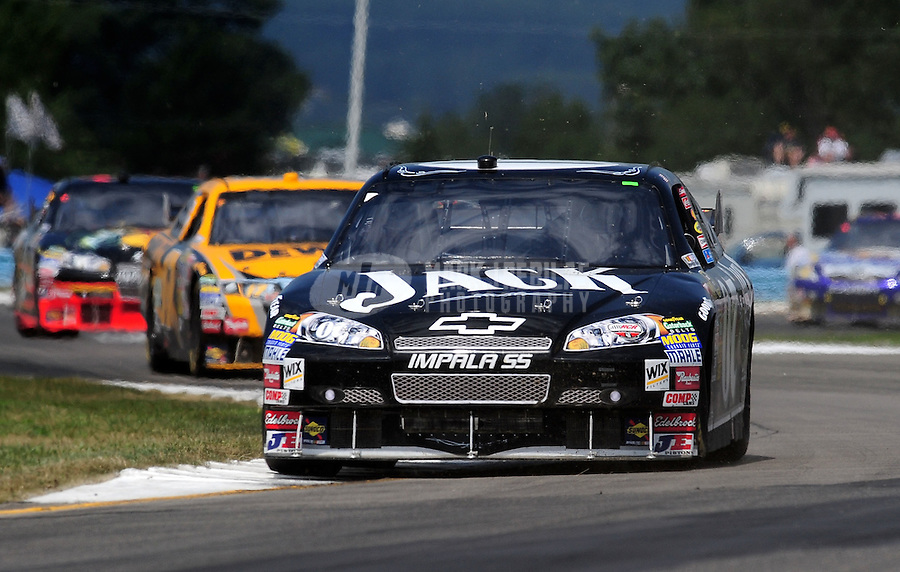 Aug. 10, 2009; Watkins Glen, NY, USA; NASCAR Sprint Cup Series driver Casey Mears during the Heluva Good at the Glen at Watkins Glen International. Mandatory Credit: Mark J. Rebilas-