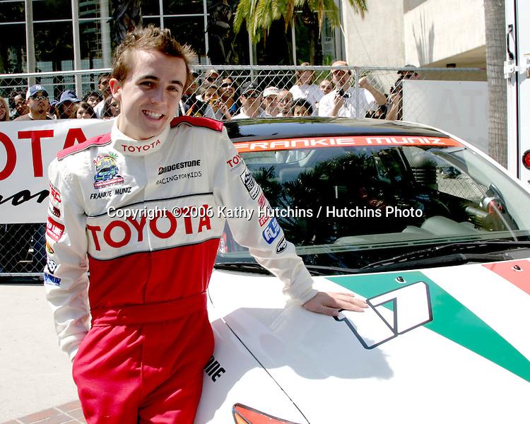 Frankie Muniz.Toyota Grand Prix Pro/Celeb Race.Long Beach, CA.April 8, 2006.©2006 Kathy Hutchins / Hutchins Photo....