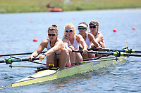 Race: 34  Event: Women's Coxless Fours - Championship - Final<br /> <br /> National Schools Regatta 2018<br /> Sunday<br /> <br /> To purchase this photo, or to see pricing information for Prints and Downloads, click the blue 'Add to Cart' button at the top-right of the page.