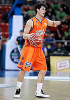 Valencia Basket Club's Rodrigo San Miguel during Spanish Basketball King's Cup semifinal match.February 07,2013. (ALTERPHOTOS/Acero) /NortePhoto